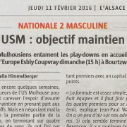 USM : objectif maintien