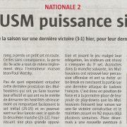 L'USM puissance six